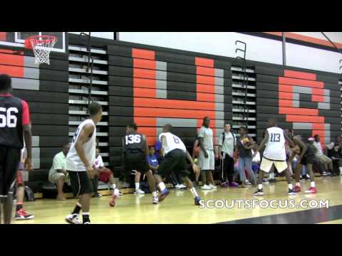 RJ Currington of Oak Hill Academy puts in work at ScoutsFocus All American! - 07/12/2012