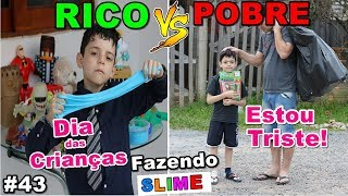 RICO VS POOR MAKING AMOEBA / SLIME # 43