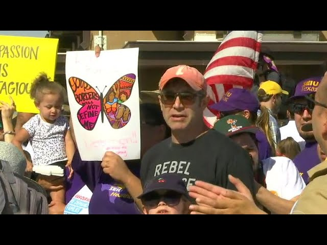 More protests as feds scramble to reunite families separated at the border