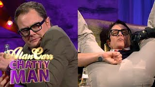 Johnny Knoxville Broke His Little Johnny While Motorcycling (Full Interview) | Alan Carr Chatty Man