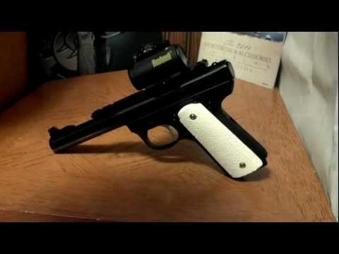 ruger mark iii 22 45 grip mods