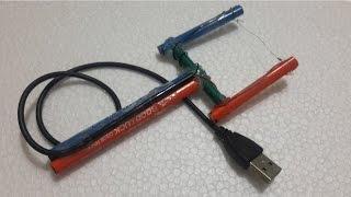 How to make USB foam cutter - Creative life hacks idea