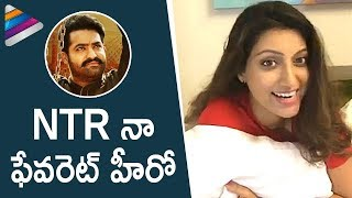 Jr NTR is My Favorite Hero says Hamsa Nandini | Jai Lava Kusa Interview | Raashi Khanna | Nivetha