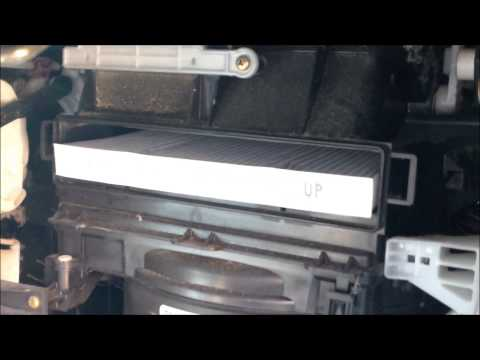 DIY How to install replace the cabin air filter on a 2005 Toyota Matrix Corolla