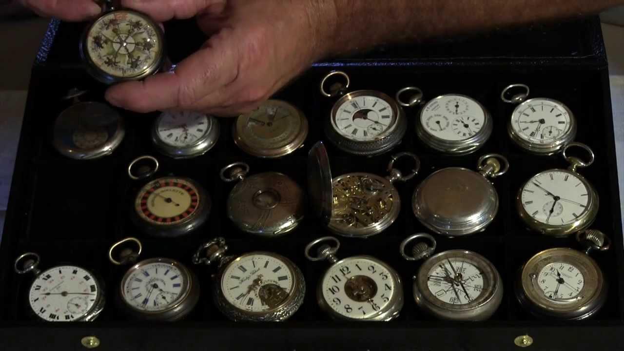 montres anciennes gousset mr poirot horloger et mr picq collectionneur youtube. Black Bedroom Furniture Sets. Home Design Ideas