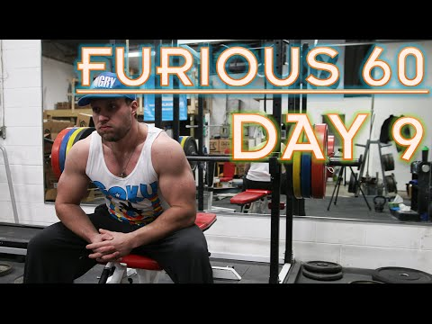 FURIOUS 60 | DAY 9 | WORKOUT FRUSTRATIONS