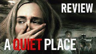 Review phim A QUIET PLACE (Vùng đất câm lặng) Poster
