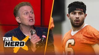 Michael Rapaport talks Browns QB Baker Mayfield on HBO