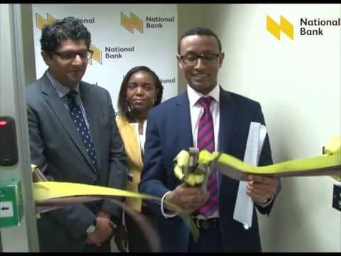 NATIONAL BANK OF KENYA IN-HOUSE CARD PERSONALIZATION FACILITY LAUNCH
