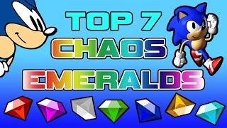 Top 7 Chaos Emeralds (April Fools 2016) - Piplupfan77