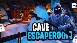 DE CAVE ESCAPEROOM - Fortnite Creative met Rudi & Harm