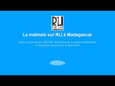 La matinale sur RLI à Madagascar