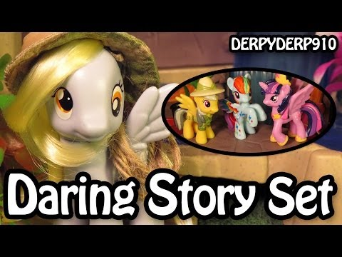 Twilight's Nightmare 3: Daring Pony Story Set - Daring Doo - My Little Pony Toy Review/Parody/Spoof