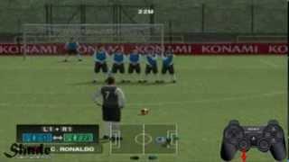 PES 2014 PS2 Free Kick Tutorial HD