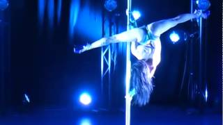 Miss Pole Dance UK 2014 - Felicity Logan