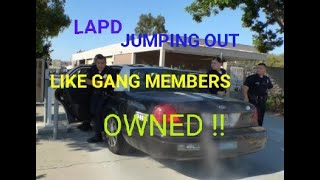 Lapd  WATTS Southeast station ( BLUE ISIS GANG OWNED ) 1st Amendment audit