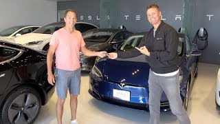 Surprising My 100th Referral with a Tesla!