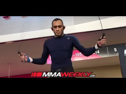Tony Ferguson Crazy Rope UFC 216 Workout