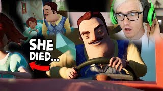 THE MOTHERS DEATH CUTSCENE... Hello Neighbor Hide and Seek Secrets
