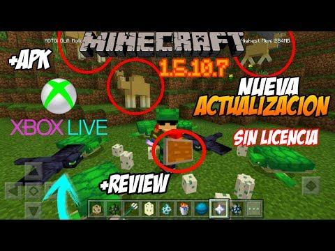 ✔NUEVA ACTUALIZACIÓN DE MINECRAFT 1.5.0.7 | INICIAR SESIÓN Xbox live -LINK MEGA Y MEDIAFIRE APK