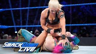 Asuka vs. Mandy Rose: SmackDown LIVE, Feb. 19, 2019