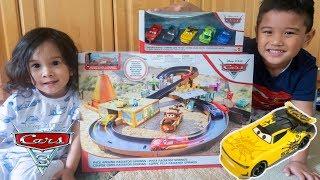 Unboxing 2019 Disney Cars Toys Next Gen Leak Less Diecast Race Around Radiator Spring Playset
