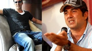 Sunny Deol Akshay Kumar's face off at the box office - TOI