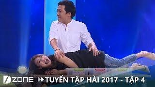 Trường Giang lợi dụng cơ hội gần gũi Ninh Dương Lan Ngọc | Hài Trường Giang 2017