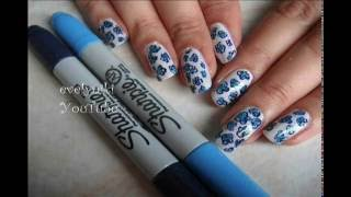 UñAS DECORADAS CON SHARPIE / NAIL ART