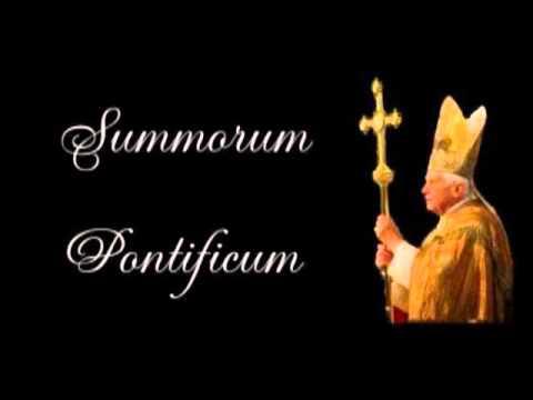 The Liturgical Reform of Pope Benedict XVI