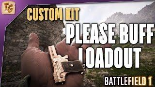 Battlefield 1 Custom Kit - The Please Buff Loadout (Medic Class, Selbstlader 1906, Kolibri)