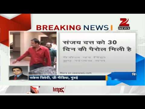 Sanjay Dutt gets a month's parole, leaves Pune prison