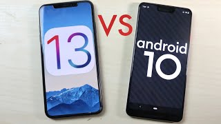 iOS 13 Vs Android 10! (Comparison)