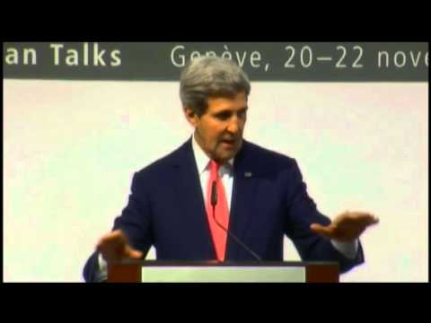 Secretary Kerry Holds a Press Availability After P5+1 Talks With Iran