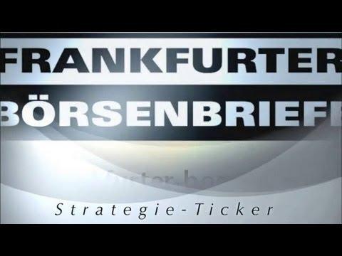 22.05.2013 - Videoticker Frankfurter Börsenbrief