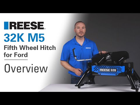 REESE® 32K M5 Fifth Wheel Hitch for Ford - 30940