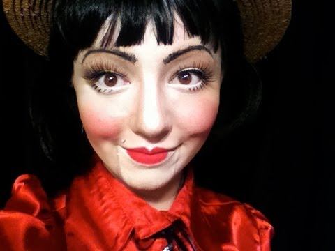 Dummy Doll Makeup Tutorial