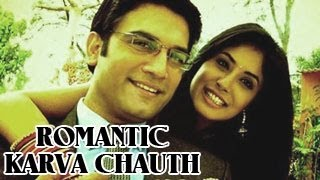 Dr Nidhi's ROMANTIC KARVA CHAUTH for Ashutosh in Kuch Toh Log Kahenge 5th November 2012