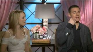 Channing Tatum and Rachel McAdams Interview for THE VOW