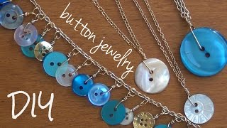 Button Jewelry ♥ DIY