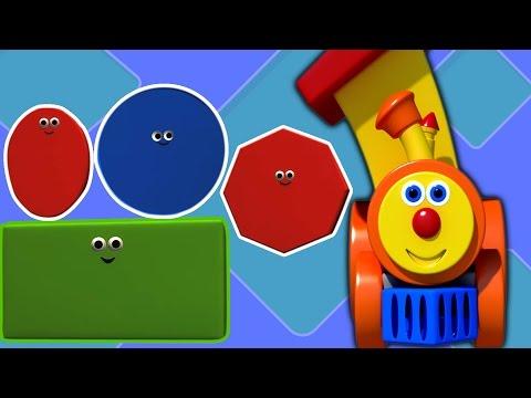 Ben Train Aventura com formas | Desenhos animados para crianças | vídeo educativo | Compilação