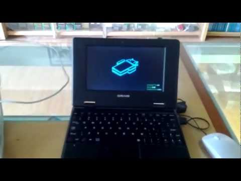 CRAIG Wireless Netbook powered by Android 4.0 - hands on