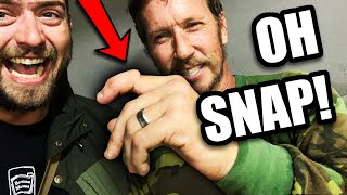 I BROKE his finger | Zombie Apocalypse Airsoft | Swamp Sniper