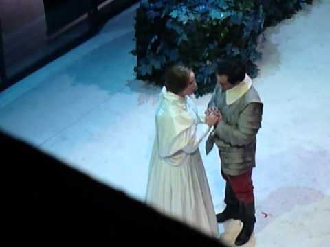 GianLuca Terranova and Jessica Pratt singing magnificent duett in Bellini`s `I Puritani`