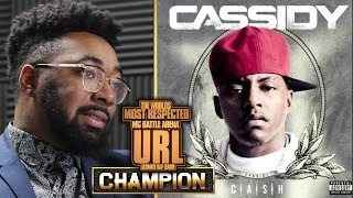 CHAMPION | IS CASSIDY THE KING OF BATTLE RAP? VS GOODZ - SMACK/URL