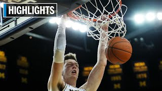 Highlights: Wolverines Edge Hawkeyes | Iowa at Michigan | Dec. 5, 2019