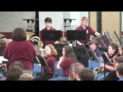 "Meridianville Middle School ""Blue Band"" Concert - April 23, 2012"