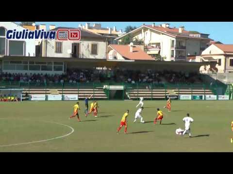 Giulianova Agnonese 1° tempo stadio Rubens Fadini 28 settembre 2014