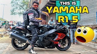 Believe it or not - This is Yamha R15 | Modified in to Hayabusa