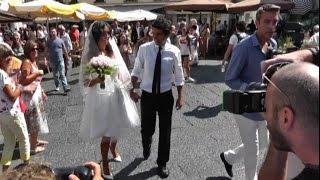 Caterina Balivo si sposa a Capri in corto vintage